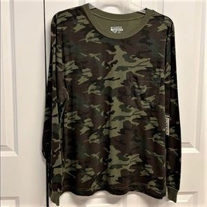Open Trails Camouflaged Shirt Size XL New